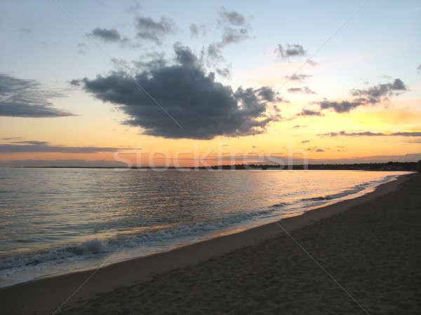 ct beach sunset Stock photo © ArenaCreative