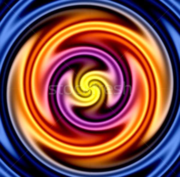 Colorful Twirl Stock photo © ArenaCreative