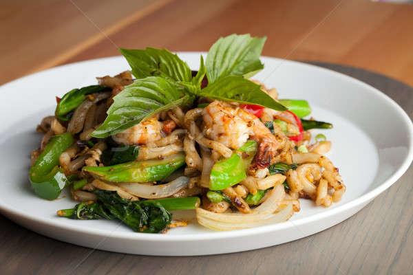 Сток-фото: тайский · креветок · тайская · еда · мелкий