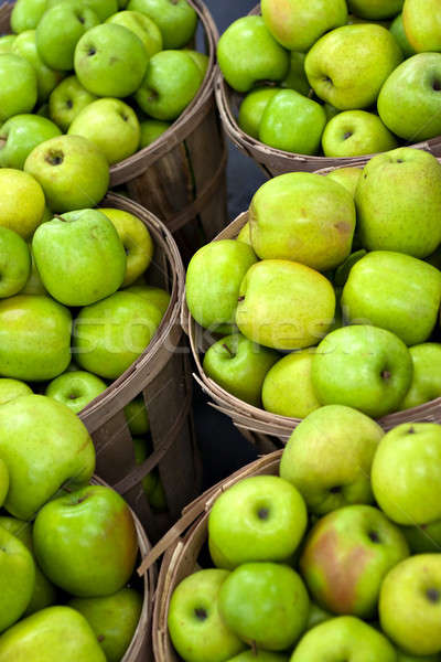 Green Apples In Bushels Stock photo © ArenaCreative