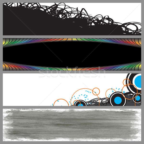 Modern Banner Templates Stock photo © ArenaCreative