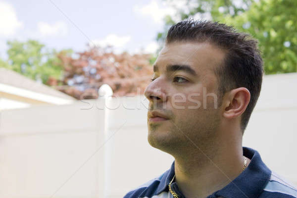 Man In Deep Thought Stock photo © ArenaCreative
