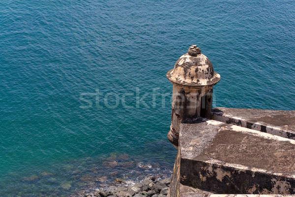 El Morro Fort Tower Stock photo © ArenaCreative