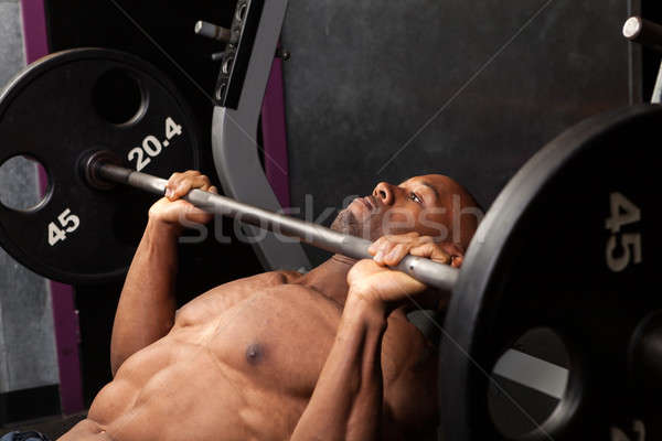 Incline Bench Pressing Stock photo © arenacreative