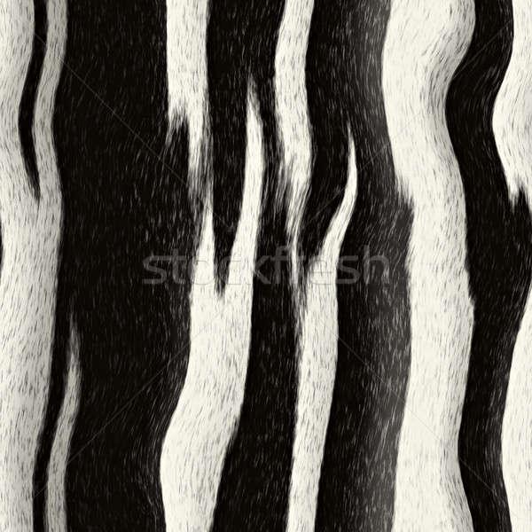 シマウマ 縞模様の パターン タイル ファッション ストックフォト © arenacreative