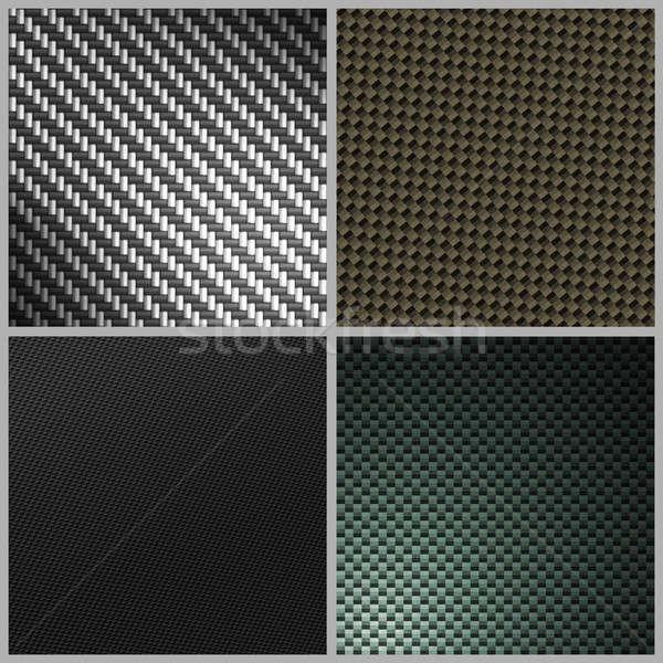 Fibra di carbonio varietà pack raccolta quattro diverso Foto d'archivio © ArenaCreative