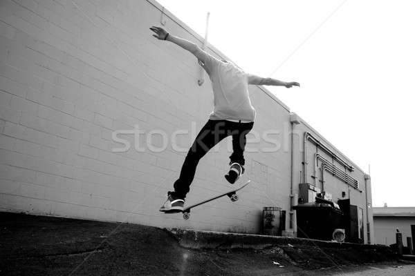 小さな スタント 都市 男 スポーツ ストックフォト © ArenaCreative
