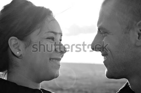 Young Romantic Couple Stock photo © ArenaCreative