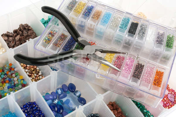 Beads for Jewelry Making Stock photo © ArenaCreative