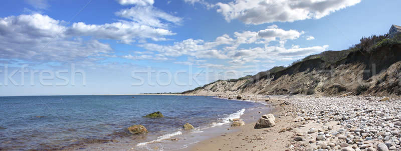 Ada sahil panorama görmek Rhode Island ABD Stok fotoğraf © ArenaCreative