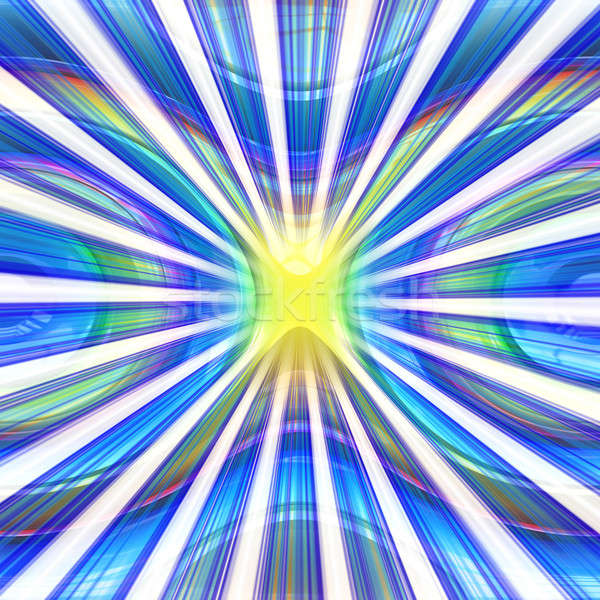 Stock photo: Colorful Abstract Vortex