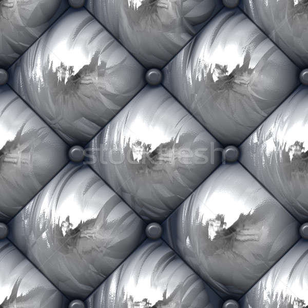 Shiny Padded Upholstery Pattern Stock photo © ArenaCreative