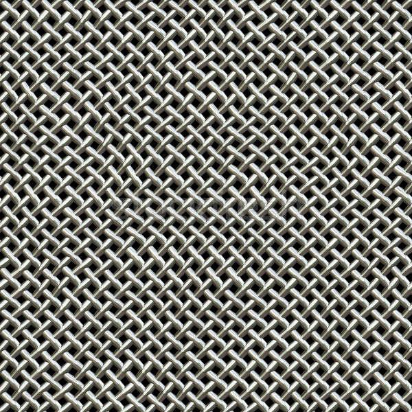 Metal Wire Mesh Pattern Stock photo © ArenaCreative