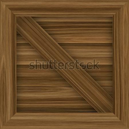 Skrzynia wektora ilustracja płytek charakter Zdjęcia stock © ArenaCreative