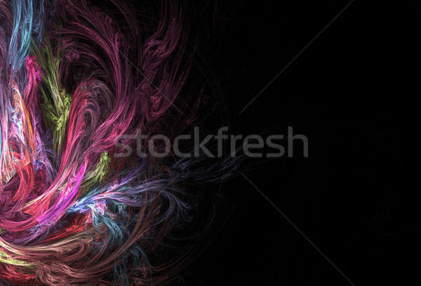 Abstract Fractal Layout Stock photo © ArenaCreative