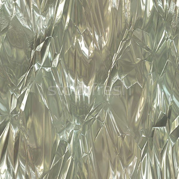 Wrinkled Tinfoil Texture Stock photo © ArenaCreative