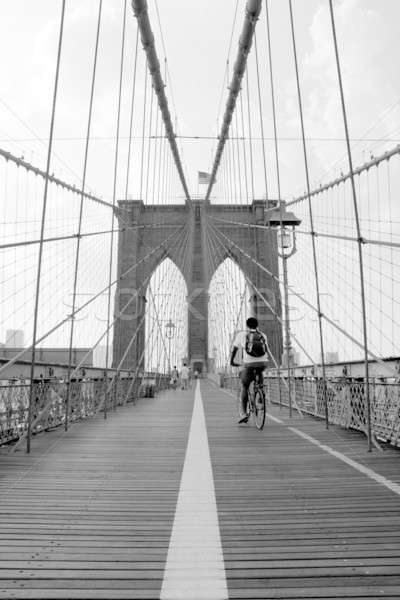 Brooklyn Bridge Stock photo © ArenaCreative