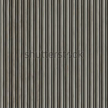 Corrugate Aluminum Material Stock photo © ArenaCreative