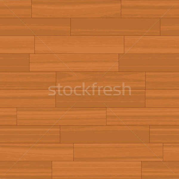 Seamless Wood Floor Vector Stock photo © ArenaCreative