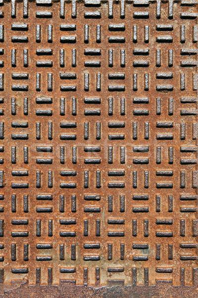 Rusted Bumped Metal Stock photo © ArenaCreative