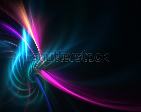 Fractal plasma vórtice colorido fondo resumen Foto stock © ArenaCreative