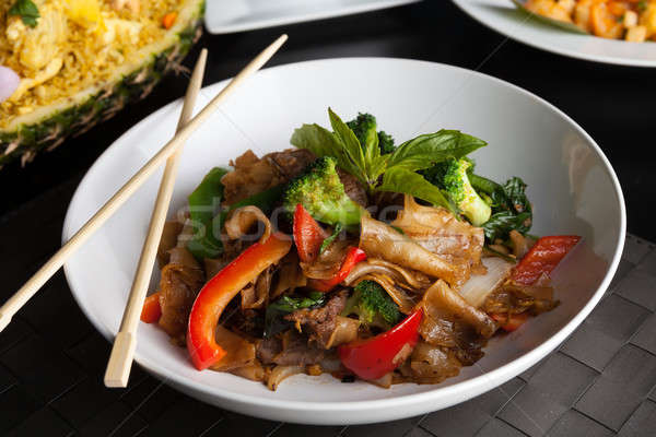 Drunken Noodle Dish Stock photo © arenacreative
