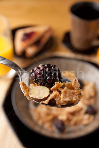 Morning Breakfast Cereal  Stock photo © ArenaCreative