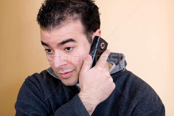 Man On His Phone Stock photo © ArenaCreative