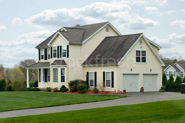 Modern Colonial House Stock photo © ArenaCreative