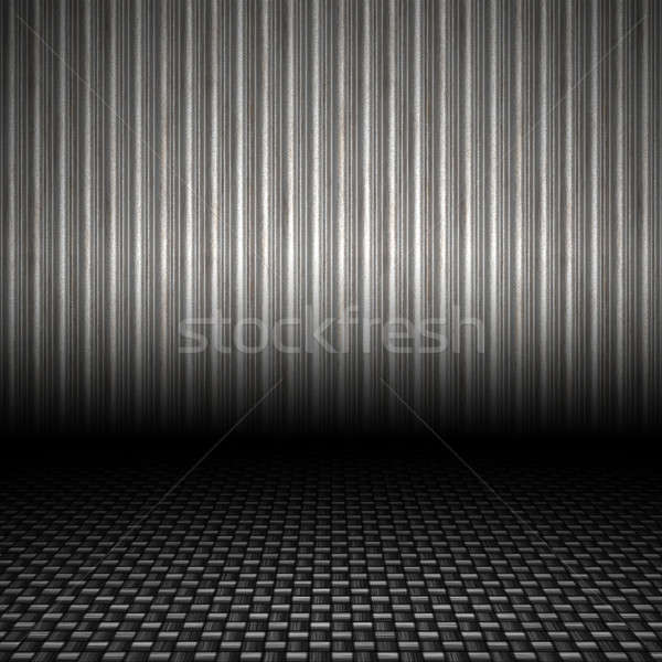 Corrugated Metal Backdrop Stock photo © ArenaCreative