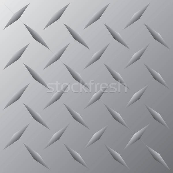 Diamond Plate Vector Stock photo © ArenaCreative