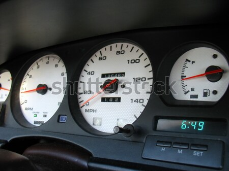 Custom Gauge Cluster Stock photo © ArenaCreative