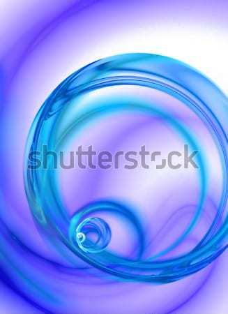 Absztrakt folyadék örvény terv erőteljes művészet Stock fotó © ArenaCreative
