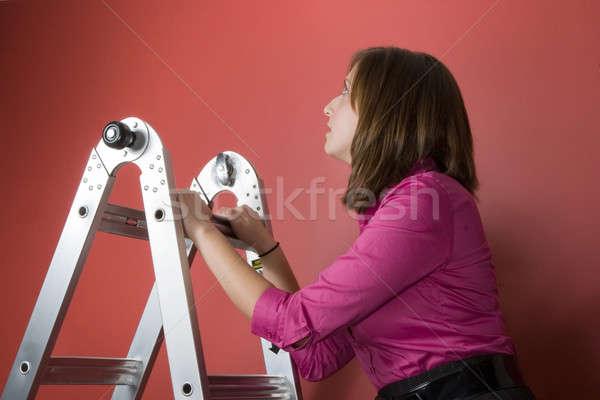 Climbing The Corporate Ladder Stock photo © ArenaCreative