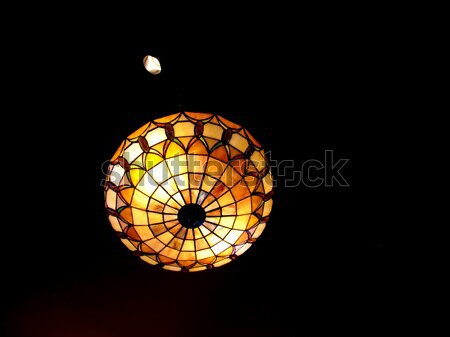 stained glass lamp Stock photo © ArenaCreative