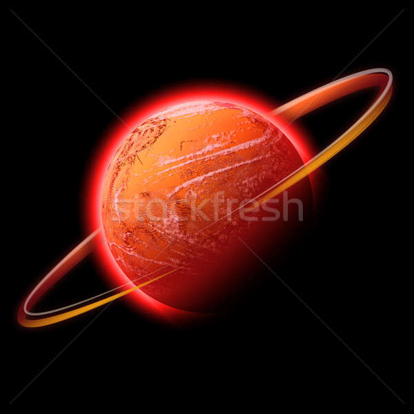 red space planet Stock photo © ArenaCreative