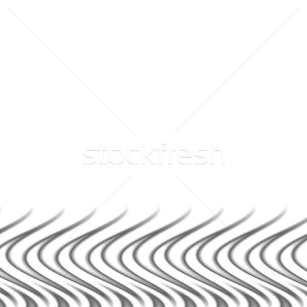 silver flames border Stock photo © ArenaCreative