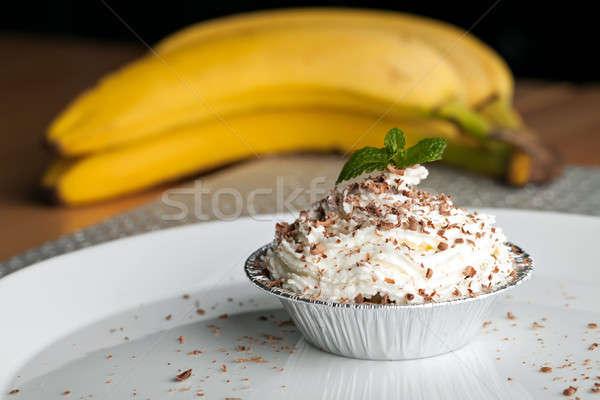 Banana Caramel Pastry Cup Stock photo © arenacreative