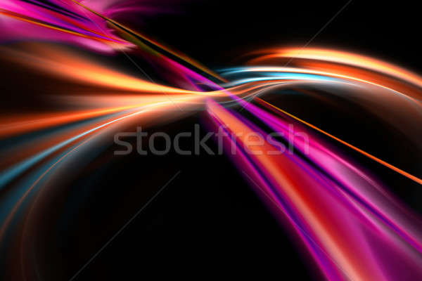 Flowing Swoosh Layout Stock photo © ArenaCreative