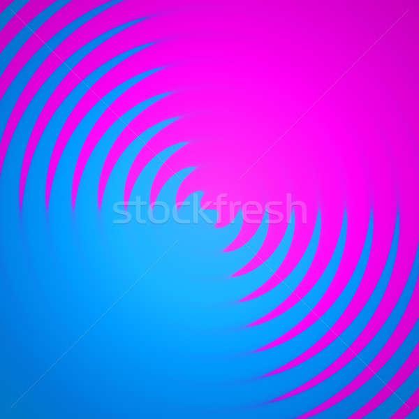 Színek absztrakt háttér rózsaszín kék festék Stock fotó © ArenaCreative