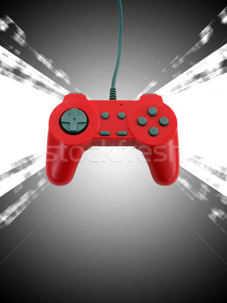 game controller w clipping path  Stock photo © ArenaCreative