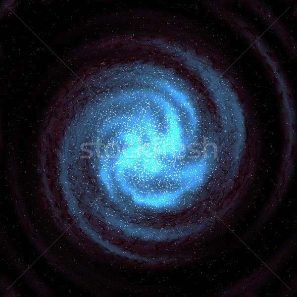 starry galaxy Stock photo © ArenaCreative
