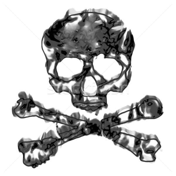 Skull and Crossbones Stock photo © ArenaCreative