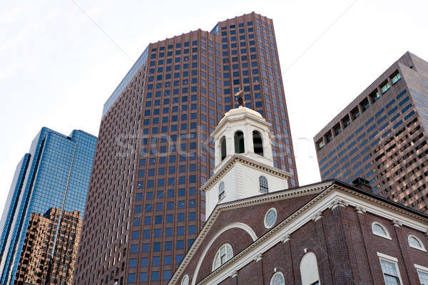 Boston Faneuil Hall Stock photo © arenacreative