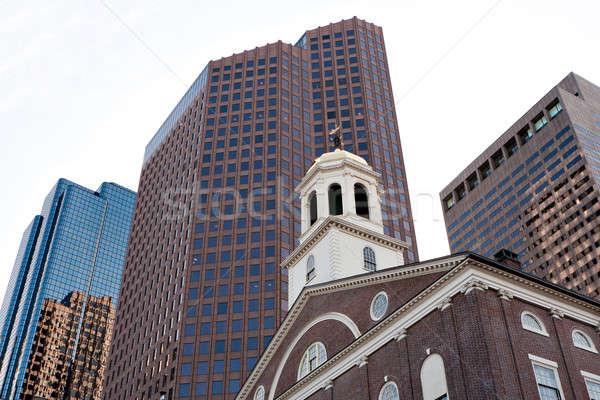 Boston sala storico costruzione Massachusetts città Foto d'archivio © arenacreative