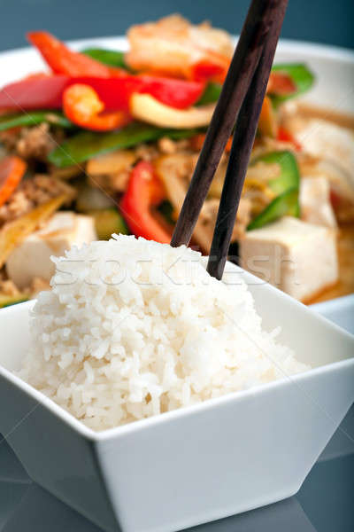Thai Food with Jasmine Rice Stock photo © arenacreative