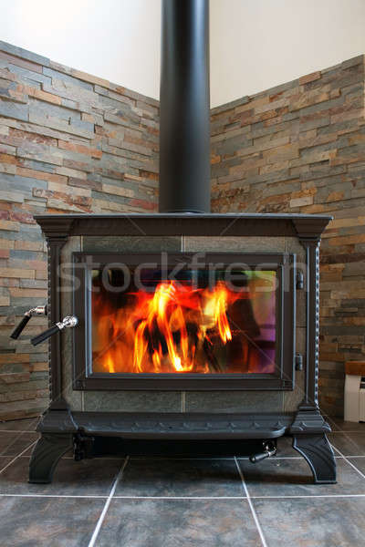 Wood Stove Stock photo © ArenaCreative