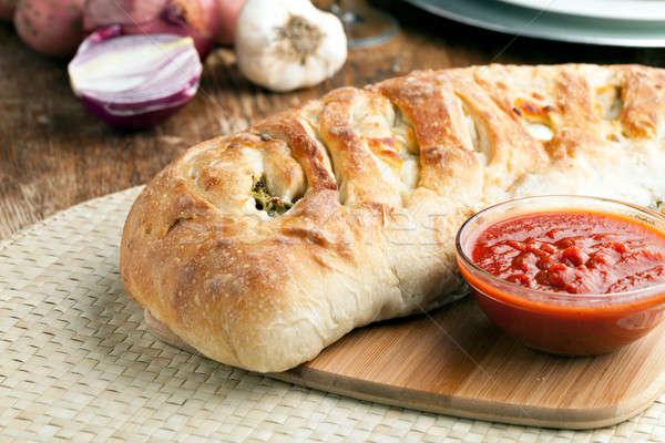 Stromboli Stuffed Bread Stock photo © arenacreative