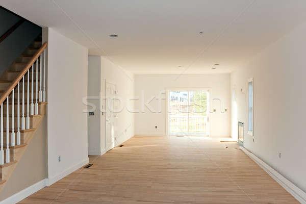 üres befejezetlen otthon belső új otthon építkezés Stock fotó © ArenaCreative