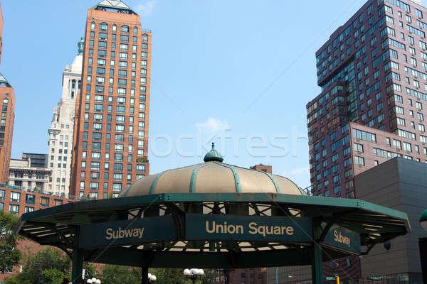 Union Square Subway Entrance Stock photo © ArenaCreative